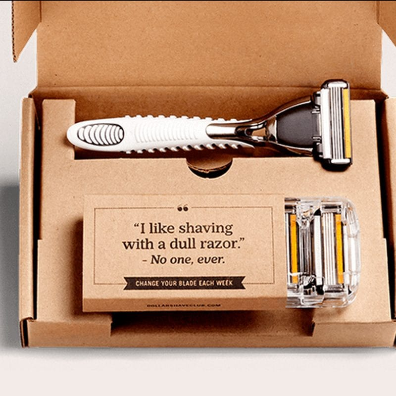 Dollar Shave Club 800x800 - What is Brand Tone of Voice?