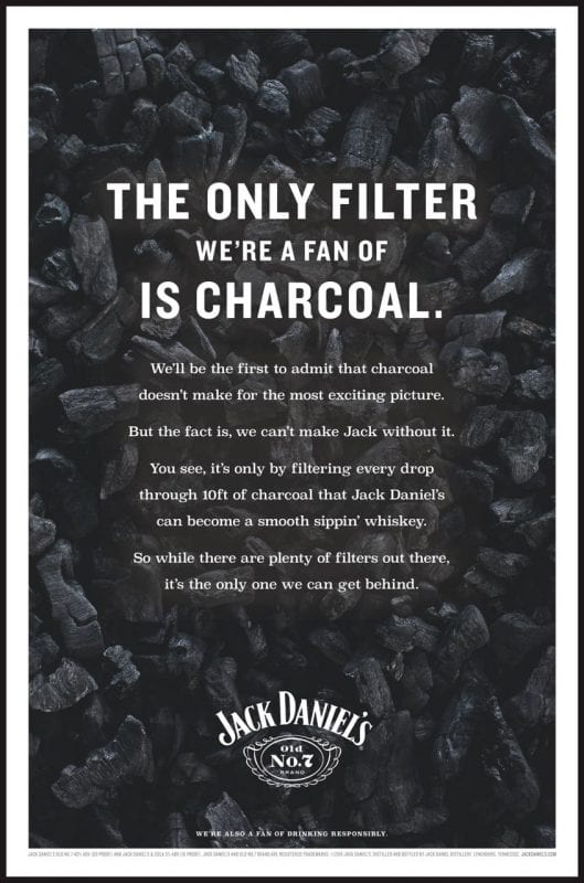 Jack Daniels charcoal 529x800 - What is Brand Tone of Voice?